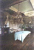 The derelict dining room cannot be beaten if you want a photograph of decayed splendour